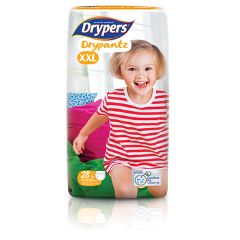 Drypers DryPantz size XXL (15kg and above)