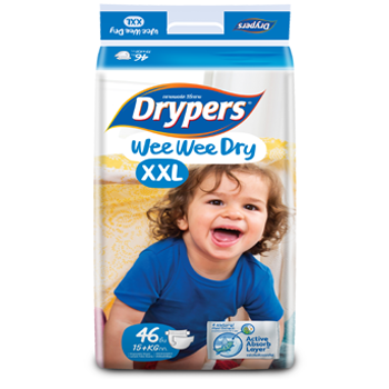 Drypers Wee Wee DRY size XXL (15kg and above)